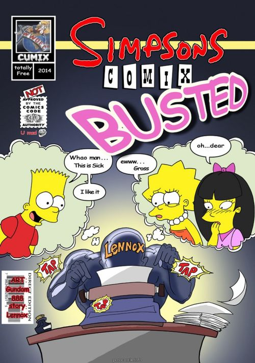 Simpsons- Busted